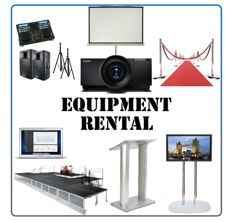 Audio Visual rentals